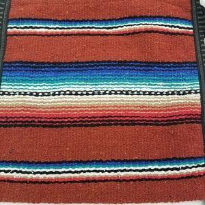 El Paso Saddleblanket Bags - El Paso Saddleblanket Rust Rio Bravo Serape Bag